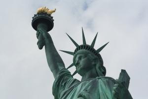 Liberty glows