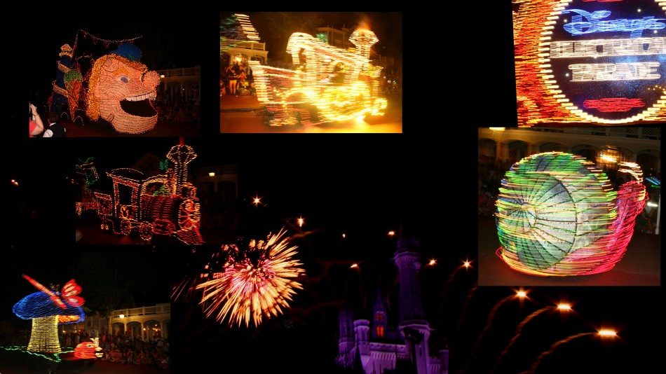 Magic Kingdom - Disney Electrical Parade and Fireworks